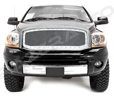 06-08 Dodge Ram 1500+2500+3500 Chrome Packaged Mesh Grille+Rivet+Chrome Shell