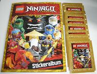 Lego Ninjago Legacy Sticker - Sammelalbum + 10 Tüten - Neu & OVP