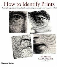 How to identify prints, Second Edition New Paperback Book Bamber Gascoigne