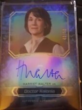 2016 Star Wars Masterwork Harriet Walter as Doctor Kalonia Auto 49/50 Rainbow