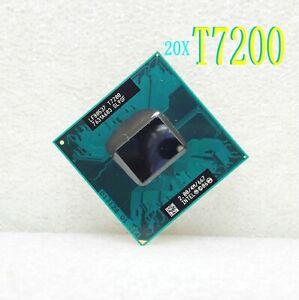 20X Intel Core 2 Duo T7200 2.0GHz Dual-Core 4M (SL9SF) Socket 479 Notebook CPU