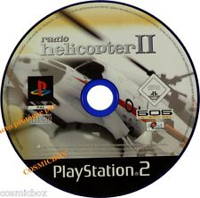 PlayStation 2 RADIO HELICOPTER II jeu video drones pour console SONY ps2 testé