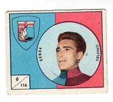 FIGURINA    CALCIATORI   VAV  1958-59    NR  116    DELFINO     GENOA