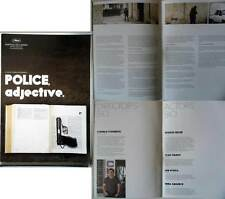 POLICE,ADJECTIVE - C.Porumboiu - DOSSIER DE PRESSE/CANNES PRESSBOOK (anglais)