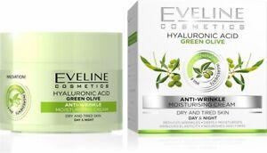 Eveline Green Olive Anti-wrinkle Day&Night Cream with Vitamin C 50ml