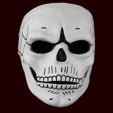 Máscara de calavera de resina de Halloween de lujo día de los Muertos Cosplay Vestido Elegante Spectre
