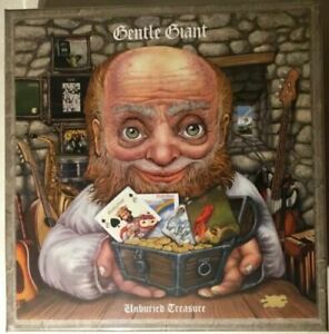 Gentle Giant - Unburied Treasure (30 Disc Box Set Limited, Brand New)