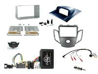 Kit Complet 2 din Ford Fiesta MK6 2008-2010 Sm B Commandes Volant & 4