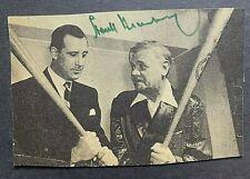 Hank Greenberg Signed Baseball Magazine Babe Ruth Detroit Tigers HOF Jewish WWII
