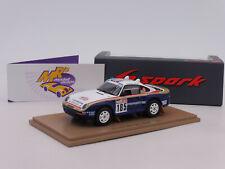 Spark S7817 # Porsche 959 Sportwagen No.185 Paris Rally Dakar 1985 J. Ickx 1:43