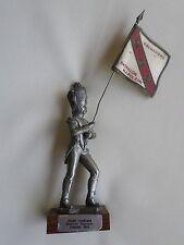 figurine étain du Prince - Porte-drapeau garde impériale Bataillon Napoléon