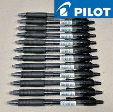 4 X Pilot G2 GEL Ink Retractable Roller Ball Pen Black 0.7mm Fine Bl-g2-7