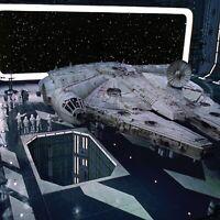 1/6th Scale Star Wars Landing Bay Death Star Ikea Shelf 15x15 Diorama Graphic