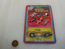 Vintage Road Tough Die Cast Street Machine Yellow Chevy Jeep.. Rare On Card