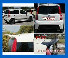 SPOILER ALETTONE FIAT  PANDA  GREZZO E KIT DI MONTAGGIO F137G  SS137-1