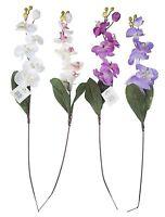 2er SET Kunst-Orchidee, Kunst-Blume NEU