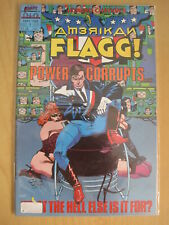 AMERICAN FLAGG :COMPLETE 12 ISSUE 1988 CLASSIC ADULT SERIES.#1 SIGNED by CHAYKIN