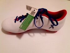 NEW ADIDAS Women's Soccer Shoes Cleats White/Blue/Red 16.4 X Size 8 M