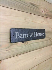 House Name Modern Decorative Plaques & Signs