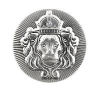 1 x 2 oz .999 Silver STACKER ROUND by Scottsdale Mint - 2 oz .999 Silver #A374