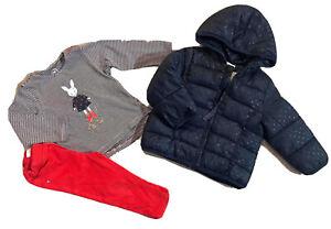 Tao Okaidi Creeks 2 ans Fille : T Shirt + Pantalon + Doudoune TBe