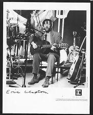 Vintage Original Ltd Edition Promo Photo 8x10 Eric Clapton Unplugged 1992