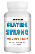 """""""Staying Strong"""" - Natural Strong Herbal Sex Stamina Pills for Men 30 USA"""