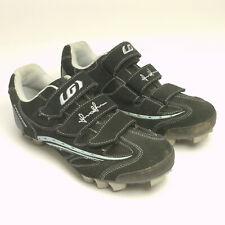 Louis Garneau Ergogrip Cycling Shoes size 7.5 US  40 EU with Shimano SPD cleats