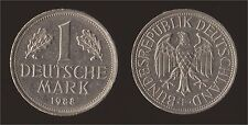 GERMANIA GERMANY 1 MARK 1988 F