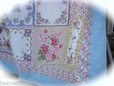 4 piece Pink White Red Blue Country Quilted Patchwork 100% Cotton King Quilt Set