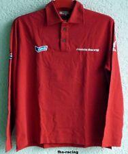 Original honda camiseta polo, camisa manga larga, hrc, gas, tamaño XXL, rojo