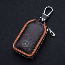 Fit Mercedes Benz  Car Key Case Fob Holder Key Cover Chain High-grade Leather