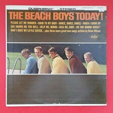 BEACH BOYS Today! LP Vinyl VG Cover VG+ Capitol DT 2269 Duophonic