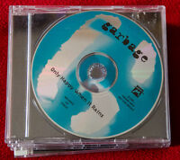 Garbage Only Happy When It Rains UK cd PROMO Shirley sexy Manson