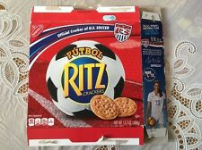 Alex Morgan USA Women Soccer Ritz Cracker Box EMPTY