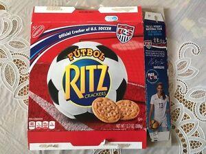 Alex Morgan USA Women Soccer Ritz Cracker Box EMPTY