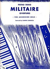 Pietro Deiro Militaire (Overture) 1945 Accordion Sheet Music