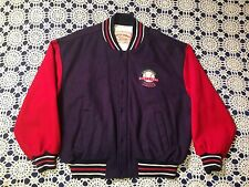"Vtg Louisville Slugger ""Hard Hitting Since 1884"" Letterman Varsity Jacket MLB"