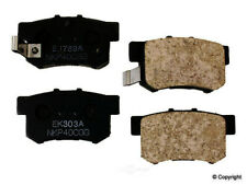 Disc Brake Pad Set-Nissin Rear WD Express 520 05370 064