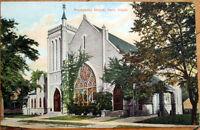1910 Paris, IL Postcard: Presbyterian Church - Illinois