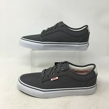NEW Vans Atwood Skateboarding Casual Sneaker Low Top Lace Up Canvas Grey Men 6.5