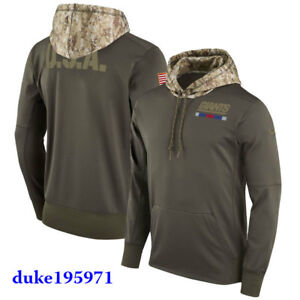 Nike NFL  New York Giants 2017 Salute to Service Hoodie/Hoody STS New Mens LARGE