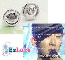 Korean TV show band 2AM Jo Kwon logo Eagle Earrings 2PM stud