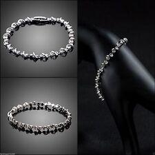 Modeschmuck-Armbänder im Armreif-Stil mit Cubic Zirkonia-Hauptstein für Damen