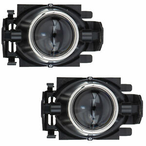 OEM NEW Front Right & Left Hand Fog Light Lamp Assembly Set (2) Ford 6E5Z15200A