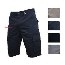 Bermuda Uomo Con Tasconi Pantalone Cargo Corto Cotone Estivo Short Pantaloncino