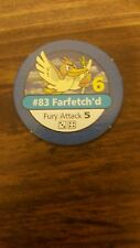 Pokemon Master Trainer - Blue Chip - #83 FARFETCH'D - 1999 BLACK BOX Ed.