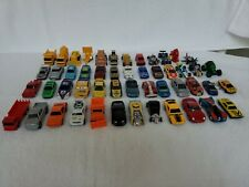 Mixed Lot (50) Unbranded Die-cast & Plastic Toy Cars/Trucks/motorcycle/Ai rplane