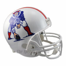 NEW ENGLAND PATRIOTS 82-89 THROWBACK NFL FULL SIZE REPLICA FOOTBALL HELMET