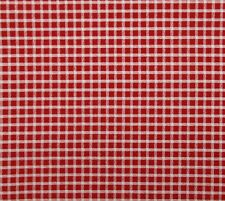 """Red Navy /& Light-Tan Quilting Cotton N1687 35/"""" Long Vintage 1990 N.T.T."""